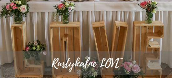 rustykalne love wesele