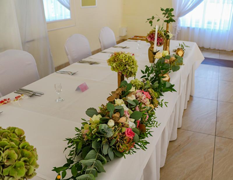 dekoracja na stół młodych warszawa