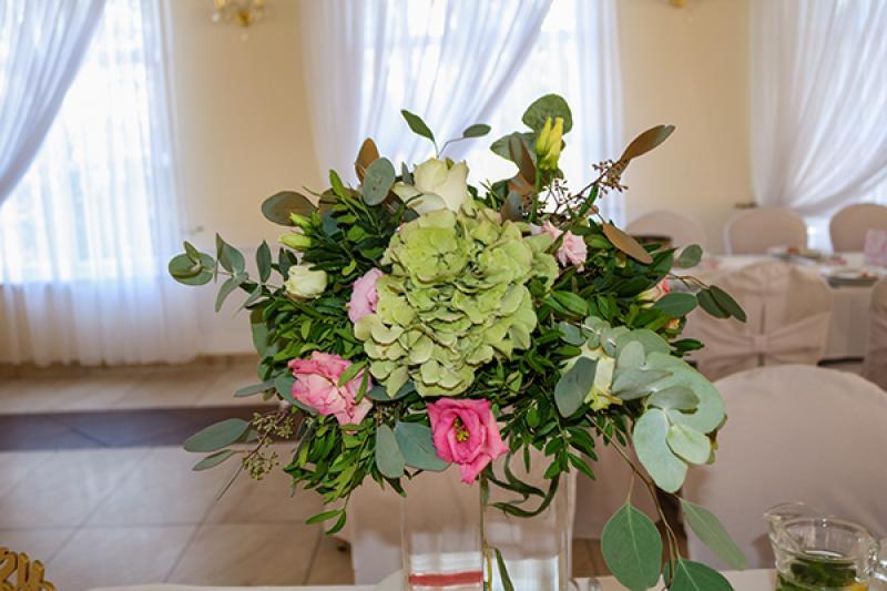 kwiaty dekoracja wesele boho warszawa
