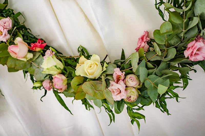 kwiaty wianki wesele