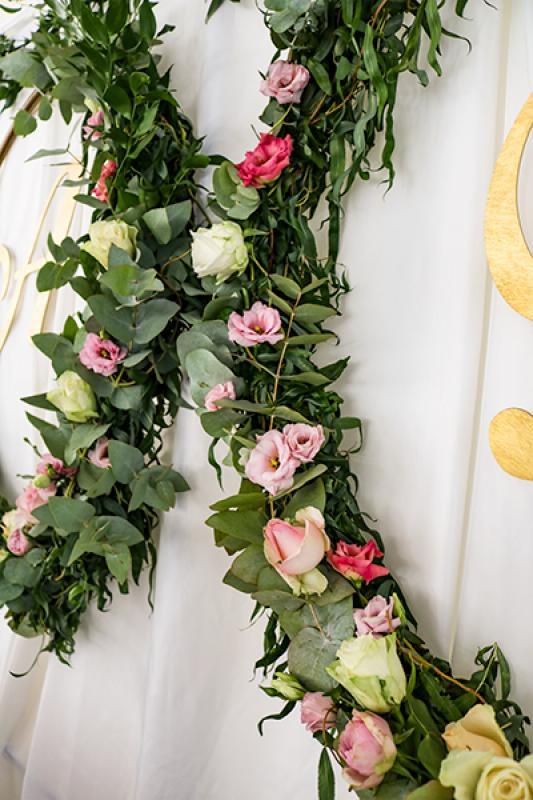wianki wesele kwiaty