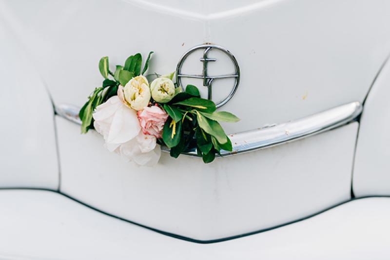 dekoracja weselna boho dekoracja samochodu warszawa