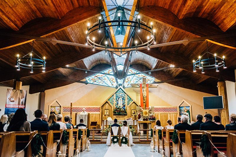 dekoracja kościoła Otwock dekoracje ślub z bajki warszawa