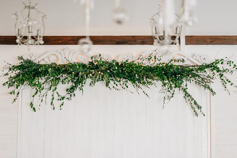 girlanda na wesele warszawa dekoracje ślub z bajki warszawa