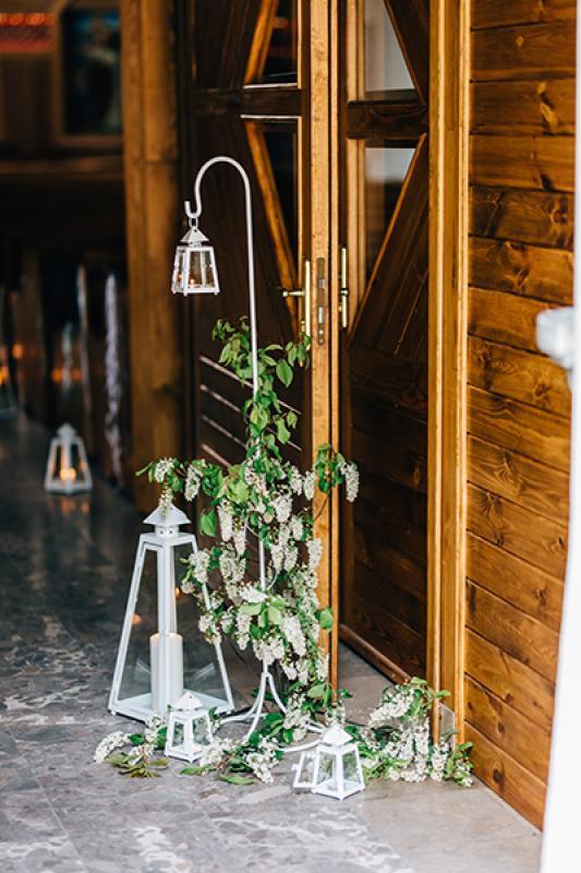 lampiony dekoracja kościoła warszawa dekoracje ślub z bajki warszawa