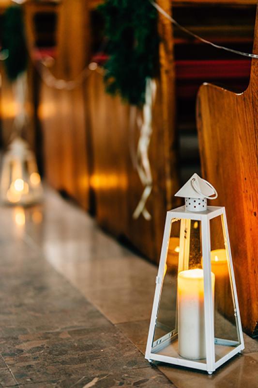 latarnie dekoracje kościoła warszawa