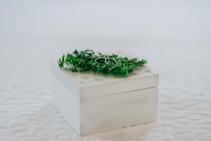 pudełko na obrączki dekoracje ślub z bajki warszawa