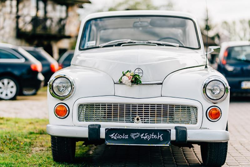 dekoracja weselna boho warszawa dekoracja auta ślub warszawa