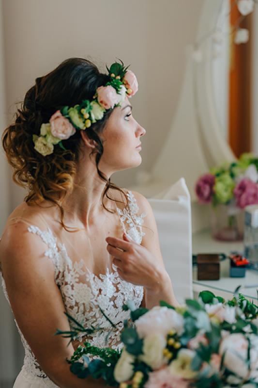 wianek panna młoda ślub warszawa dekoracje ślub z bajki warszawa