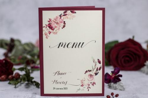 menu-weselne-bordo-krem-kwiaty