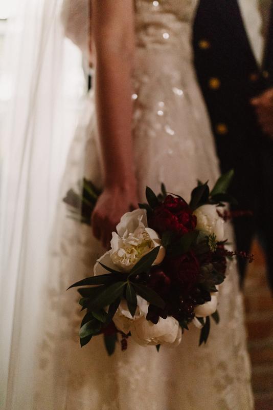 bukiet ślubny masala dekoracje bordo ślub