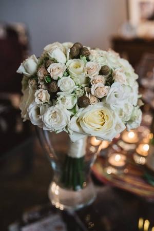 bukiet ślubny warszawa róża brunia