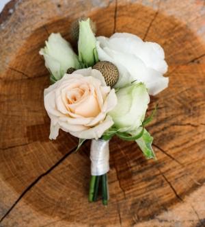 butonierka warszawa róża brnia