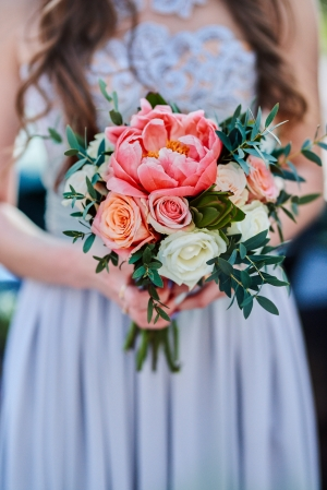 warszawa bukiet piwonie ślubne różowe