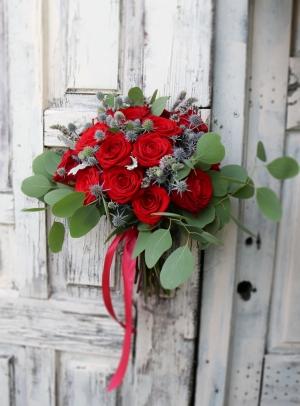 wiązanka ślubna warszawa róże