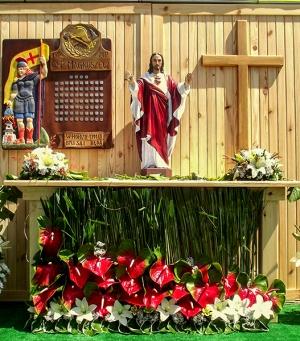 dekoracja kościoła anturium warszawa