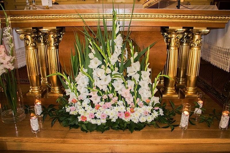 dekoracje ślubne kościół warszawa