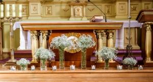 gipsówka dekoracja na ślub warszawa