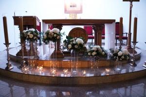 hortensja dekoracja na ślub warszawa
