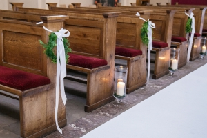 kościół alejka ślub dekoracje ślubne warszawa