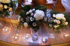 kwiaty świece kościół warszawa ślub