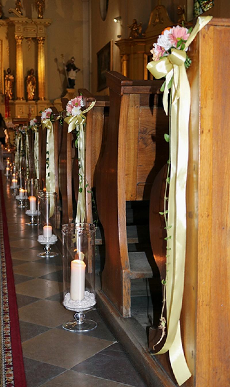 latarnie na ślub warszawa ławki