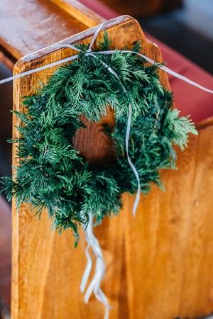 wianek dekoracja kościoła dekoracje ślubne warszawa