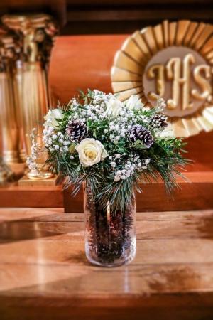 zimowe kwiaty warszawa ślub