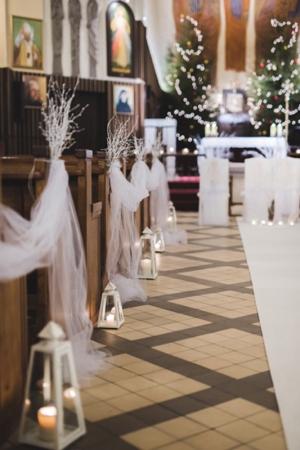 zimowy ślub kościół warszawa