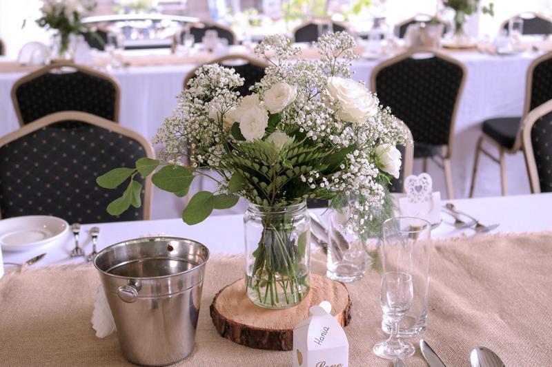 dekoracja sali na wesele warszawa stół