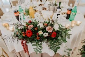 dekoracja stołu młodych warszawa