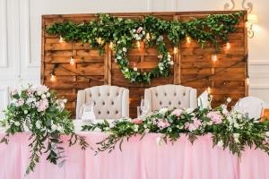 dekoracja stołu młodych wianki boho warszawa