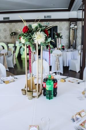 dekoracja wesele warszawa okrągłe stoły