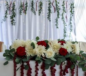 dekoracje na wesele szkarłat warszawa