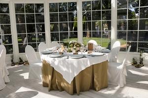 dekoracje rustykalne warszawa stół