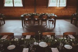 girlanda dekoracja na wesele