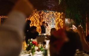 kurtyna świetlna na wesele
