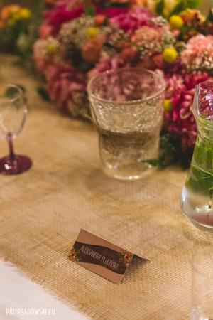 piwonie rustykalnie dekoracje ślubne warszawa