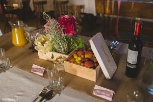 rustykalna dekoracja stołu warszawa