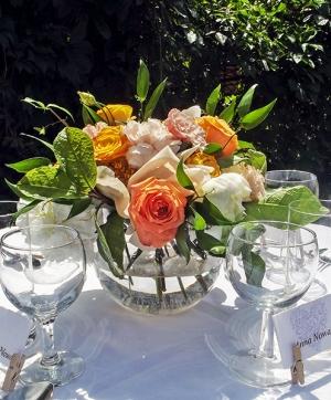 warszawa bukiet kwiatów na stół wesele