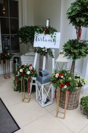 witamy dekoracje ślubne