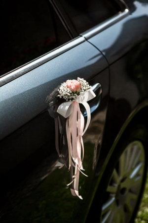dekoracja klamek ślub