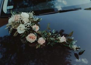 dekoracja samochodu do ślubu warszawa