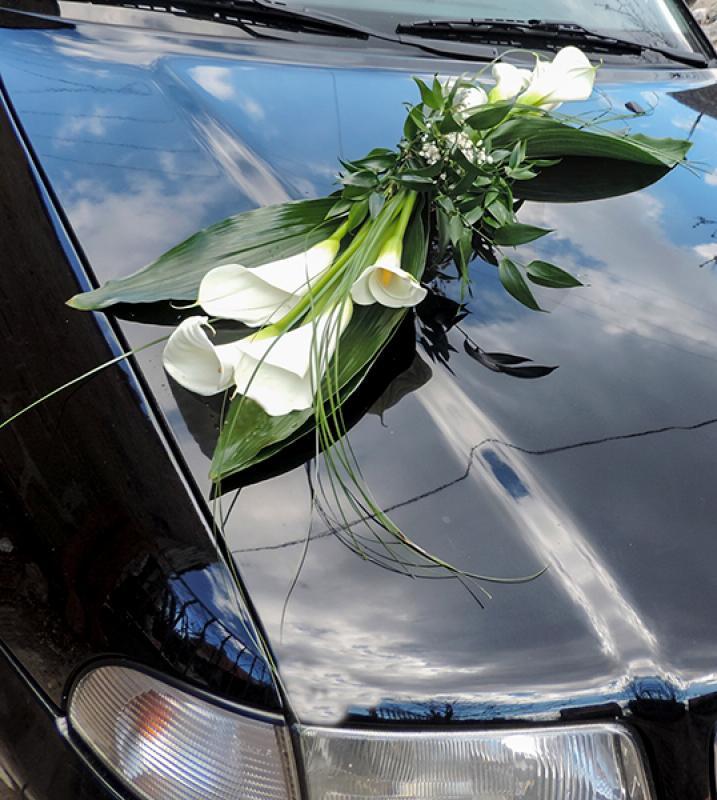dekoracja samochodu kalie