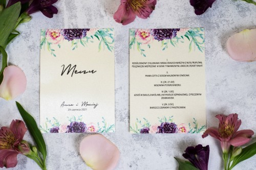 menu-krem-roz-fiolet-kwiaty