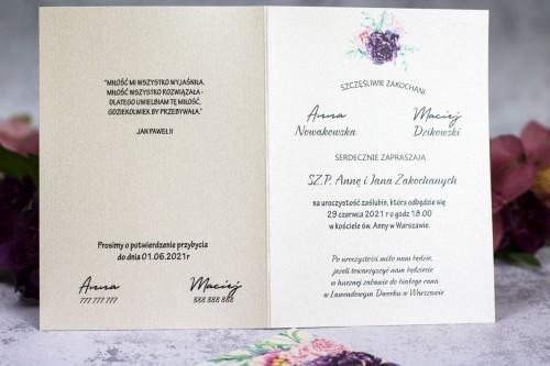 zaproszenie-slubne-krem-fiolet-roz