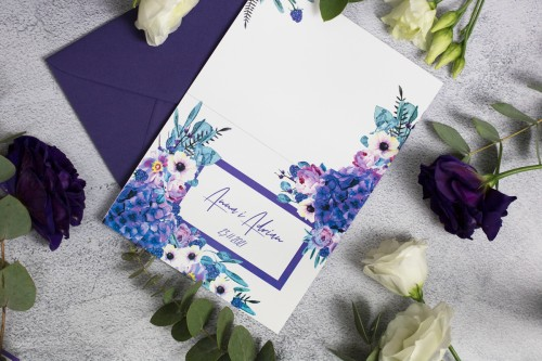 fioletowa-hortensja-zaproszenie-slubne