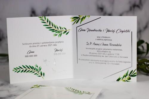 zaproszenie-slubne-srebro-oliwka