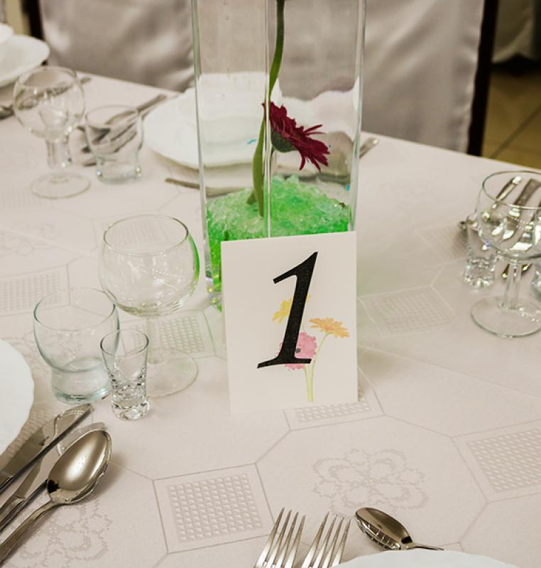 numer stołu gerbera