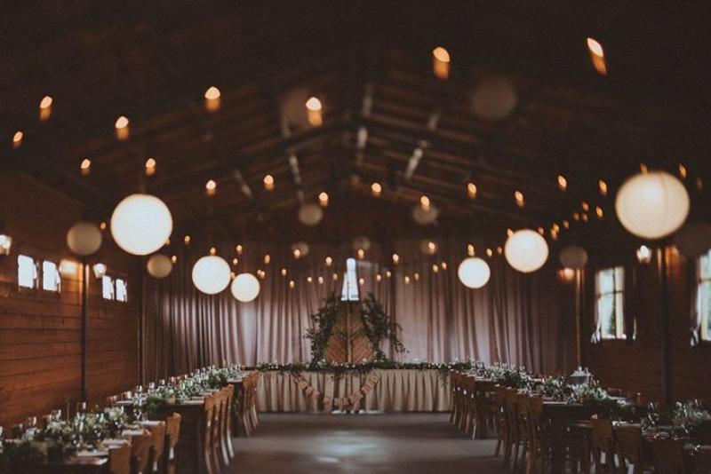 Dekoracje ślubne boho warszawa dekoracja sali na wesele girlandy świetlne